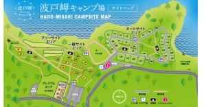 キャンプ場マップ