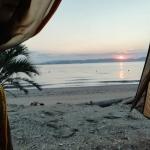 絶景の朝日